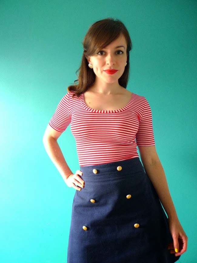 Tilly and the Buttons: Bow Back Nettie