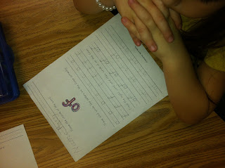 photo of sight word handwriting sheets