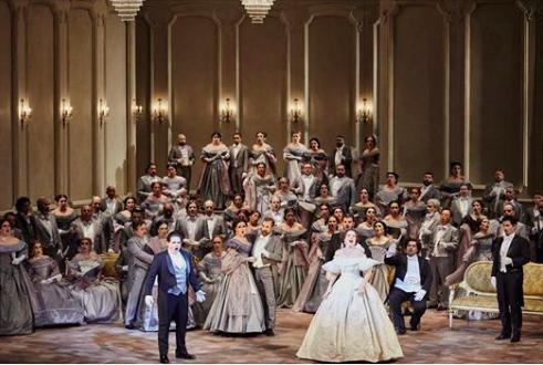 Audiodescrição Ópera La Traviata