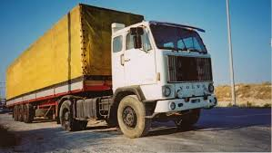 Old Volvo lorry