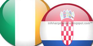 Rep. Irlandia vs Kroasia | Jadwal Prediksi Skor Akhir dan Live Streaming Euro Cup | RCTI Senin 11 Juni 2012
