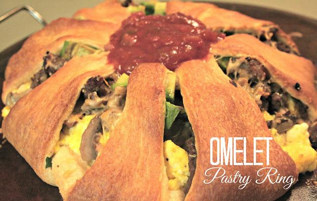 Omelet Pastry Ring