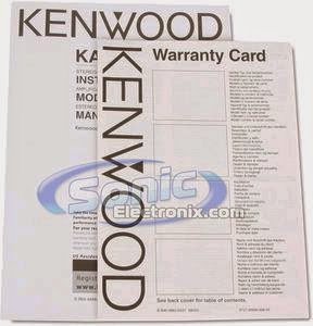 KENWOOD KAC-5204 MANUAL