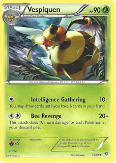 Vespiquen Ancient Origins Pokemon Card