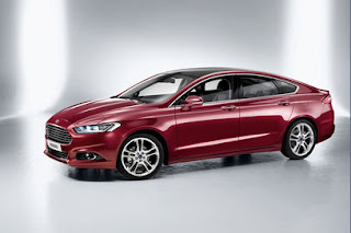 2013 Ford Mondeo version for Europe