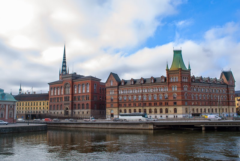 view of stockholm from old town