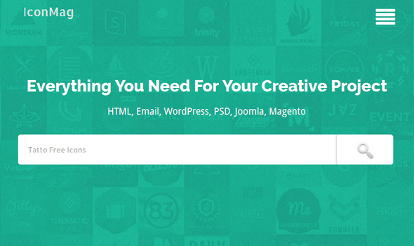 IconMag Blogger Template