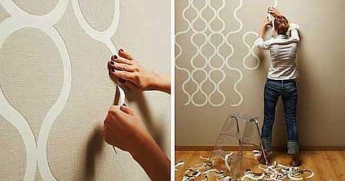 Cara Pemasangan Wallpaper Dinding | Ilmu Tukang Bangunan Rumah