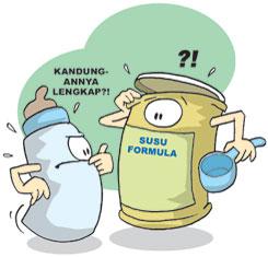 Susu Formula Berbakteri