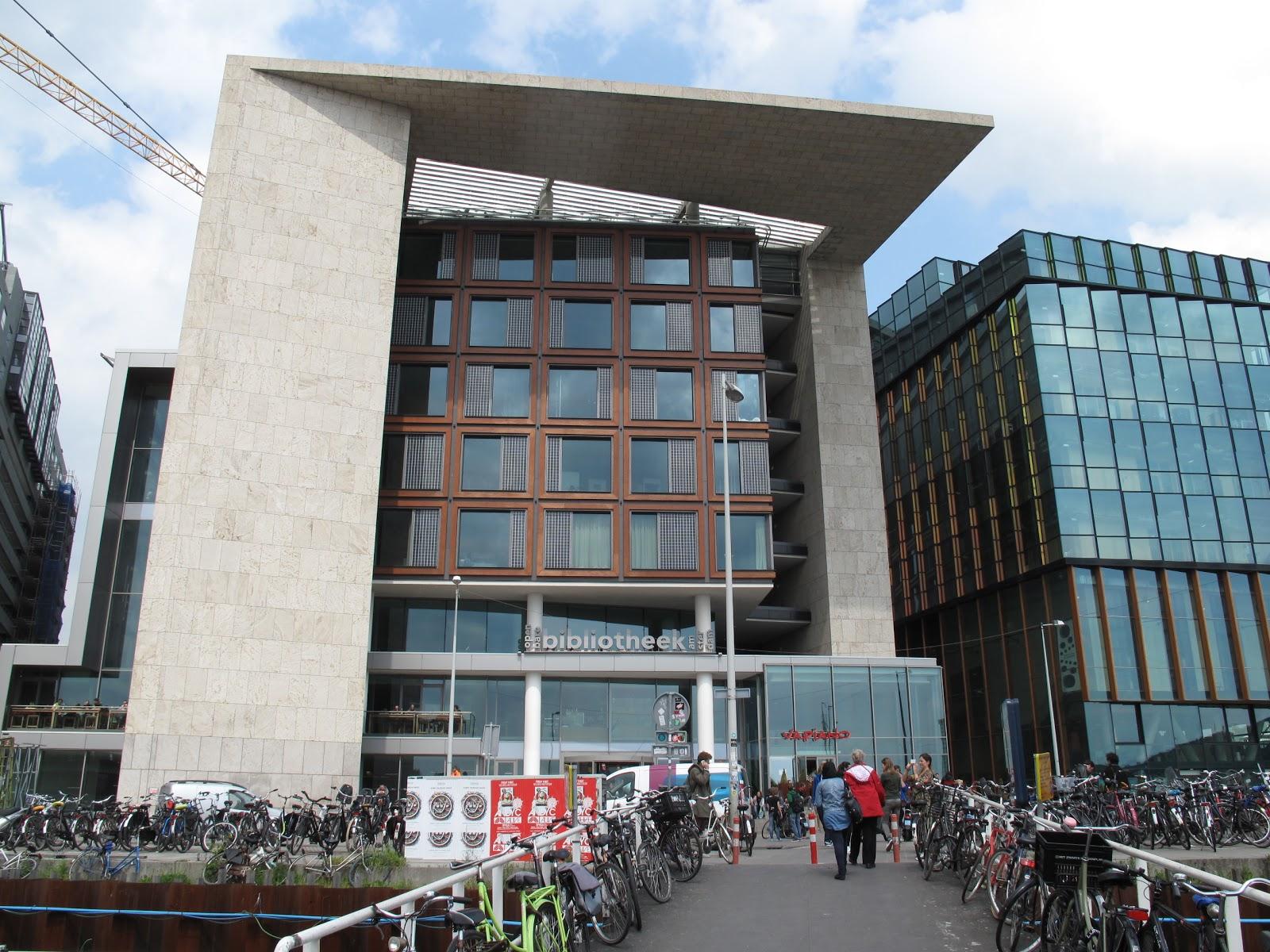 Openbare bibliotheek amsterdam despazio langzaam for Bibliotheek amsterdam