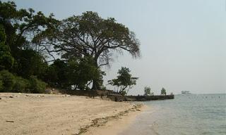 Visitindonesia; Bidadari Island, The Isle Amongst Historical Site To Relax Inwards Jakarta