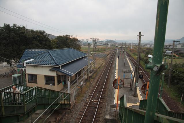 day 35 愛媛から香川へ 海岸寺駅...