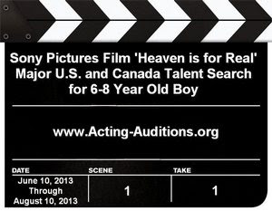 Heaven is for Real Talent Search
