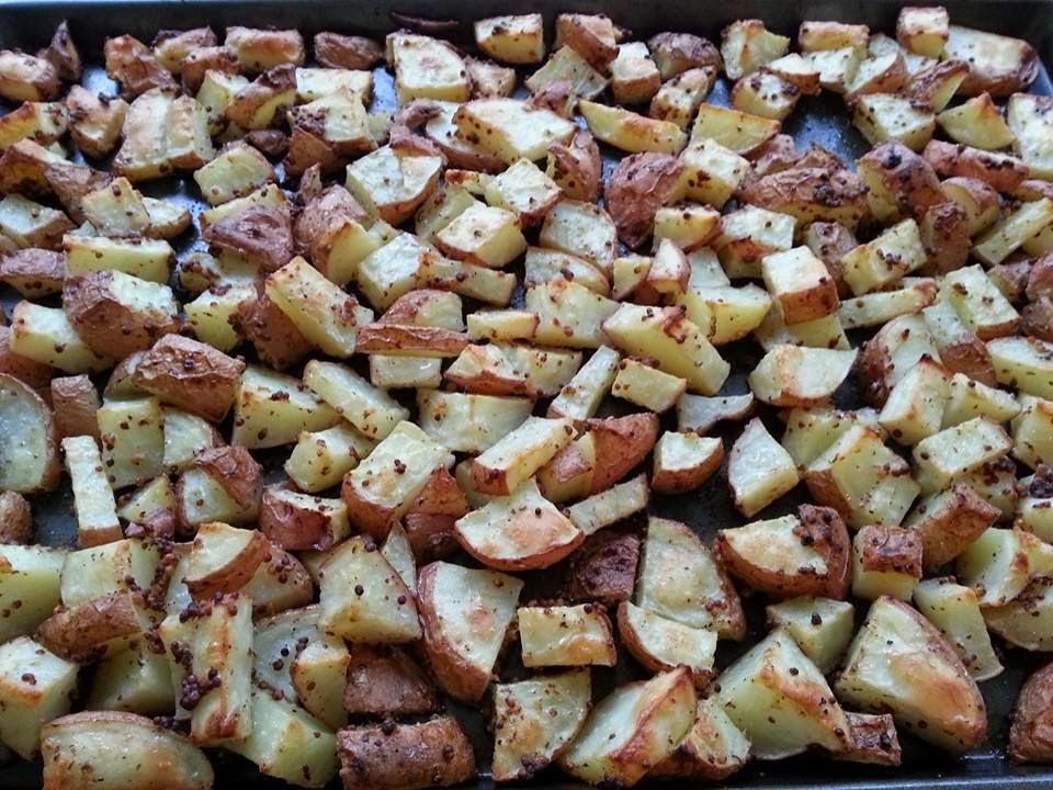 http://sharingwithmysisters.blogspot.com/2014/07/mustard-roasted-potatoes.html