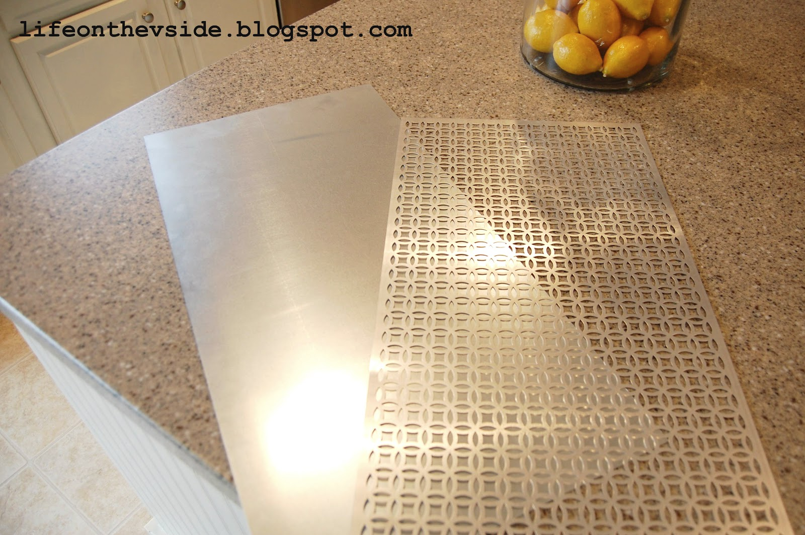 Decorative Metal Sheets for Cabinets