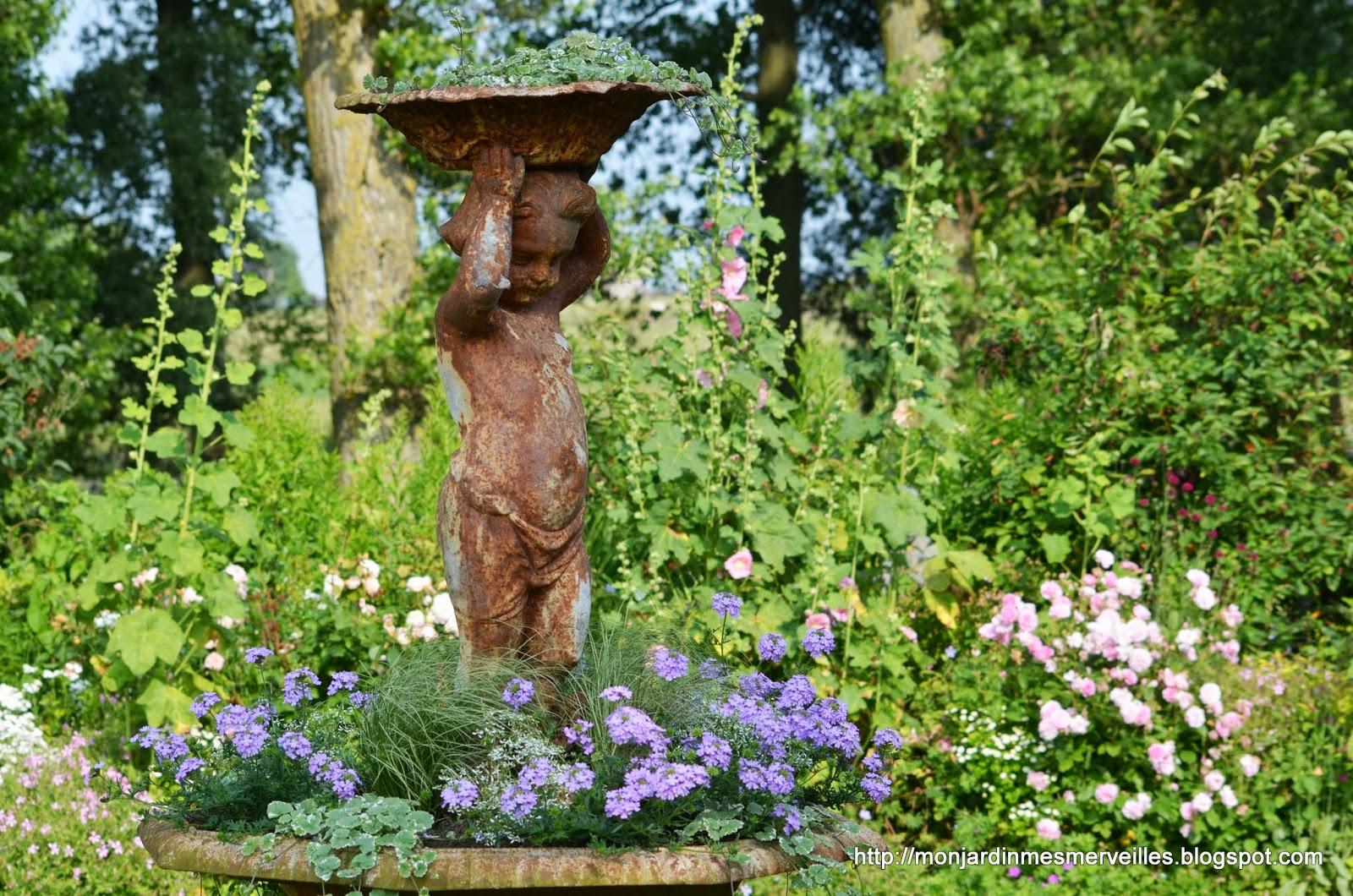 Beautiful Vasque Jardin Fleurie Ideas - House Interior ...