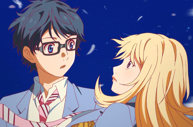 Angel Beats, Anime, AnoHana, Clannad, Drama, Guilty Crown, Hanbun no Tsuki ga, Menangis, Rekomendasi Anime, Sedih, Shigatsu Kimi no Uso, Tokyo Magnitude,