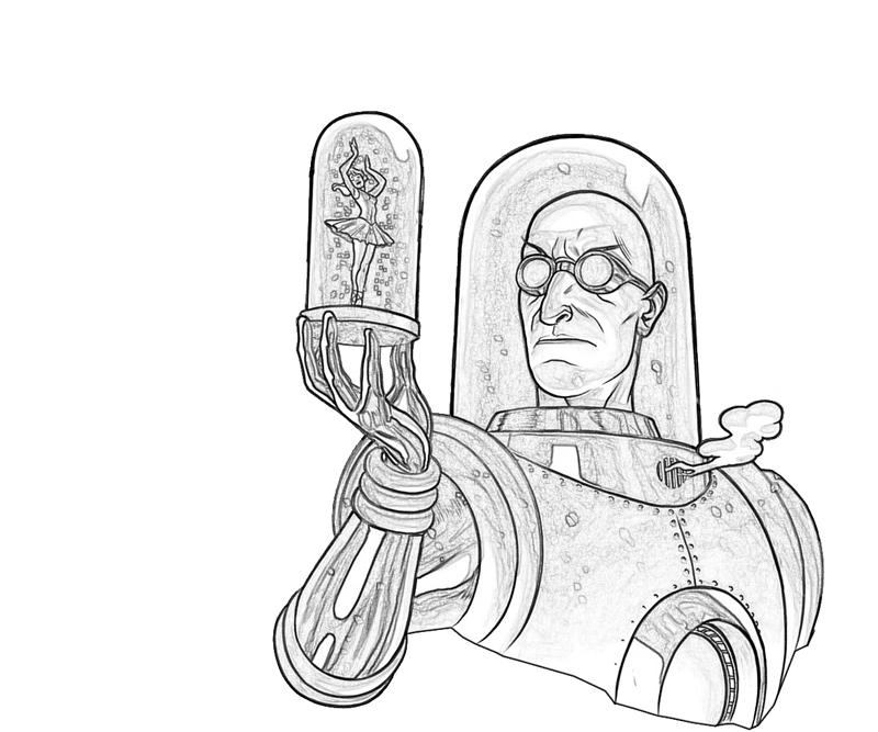 Mr Freeze Pages Coloring Pages Mr Freeze Coloring Pages