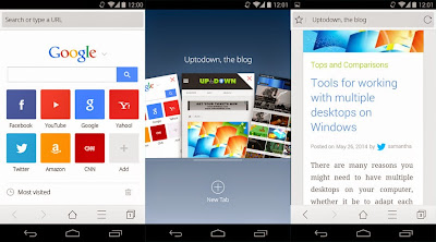 Preview UC Browser Terbaru | andromin