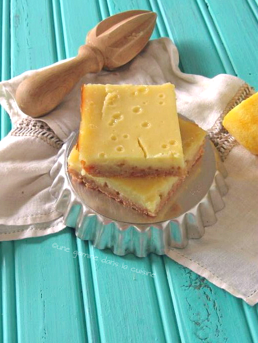meyer lemOn buttermilk bars | une gamine dans la cuisine