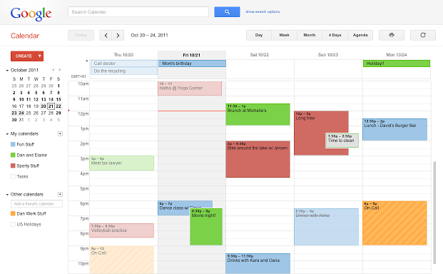 Google Chrome: 10 Must Have Apps and Extensions - Goolge Calender