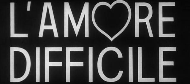 Die Liebe ist schwierig - Beginn der Hochphase des Episodenfilms: