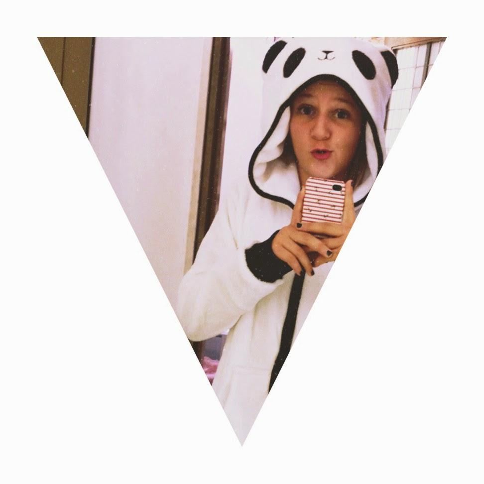 Oysho Fluffy Panda Jacket