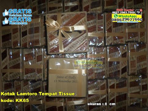 Kotak Lamtoro Tempat Tissue murah