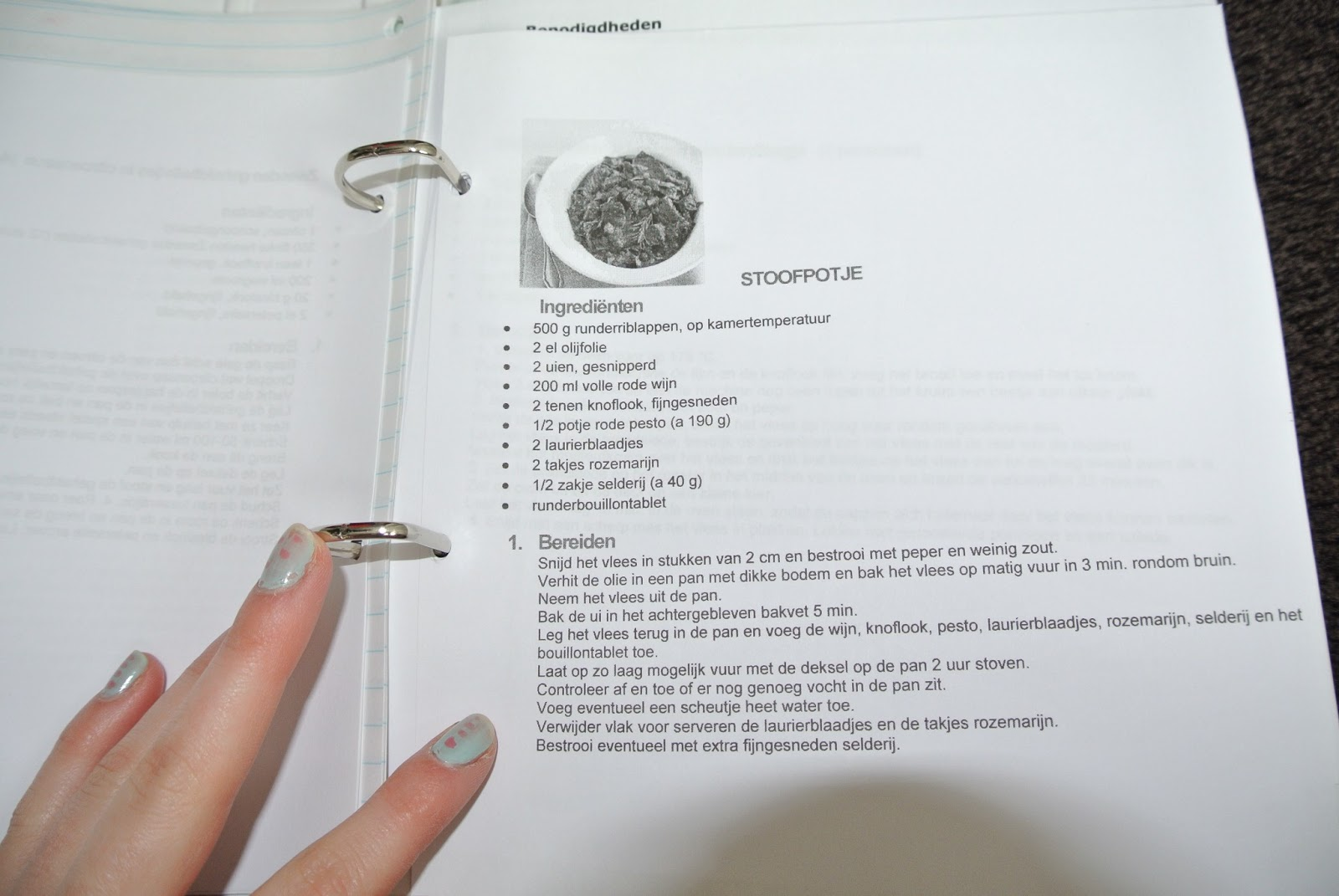 zelf kookboek maken