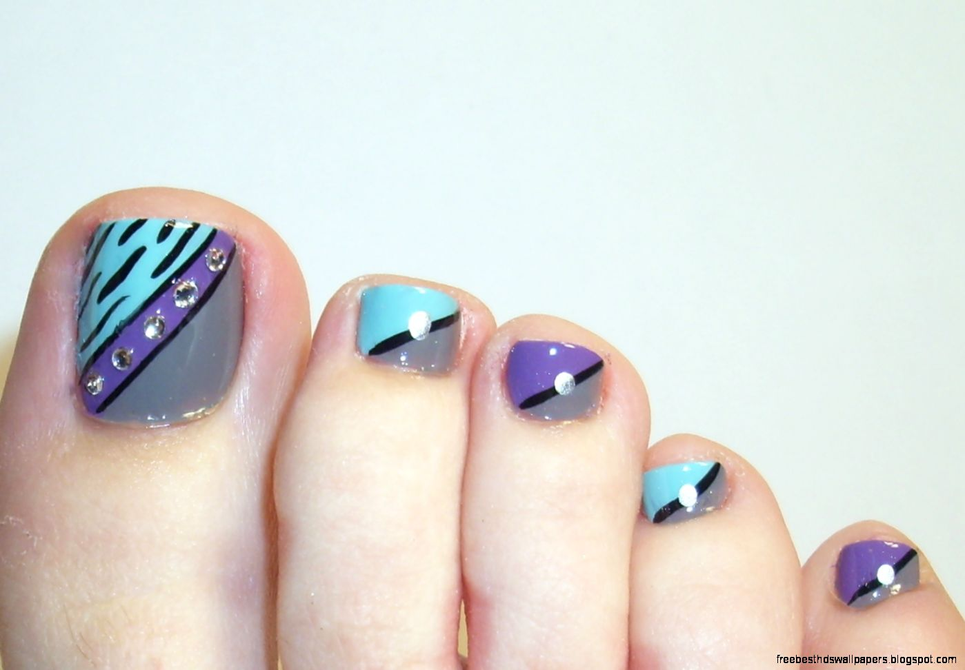 Pretty Toe Nail Art Free Best Hd Wallpapers