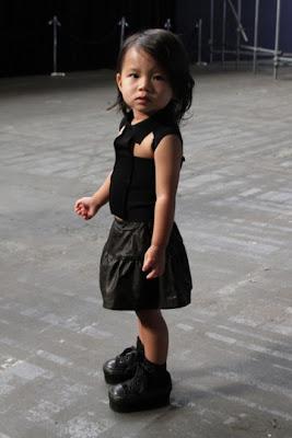 L'adorable nièce d'Alexander Wang