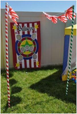 decorar una fiesta circo