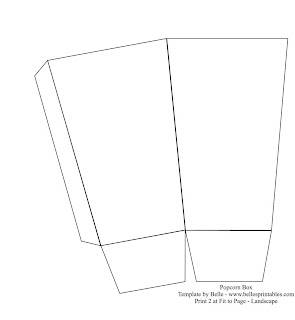 Как сделать стаканчик для попкорна из бумаги 10