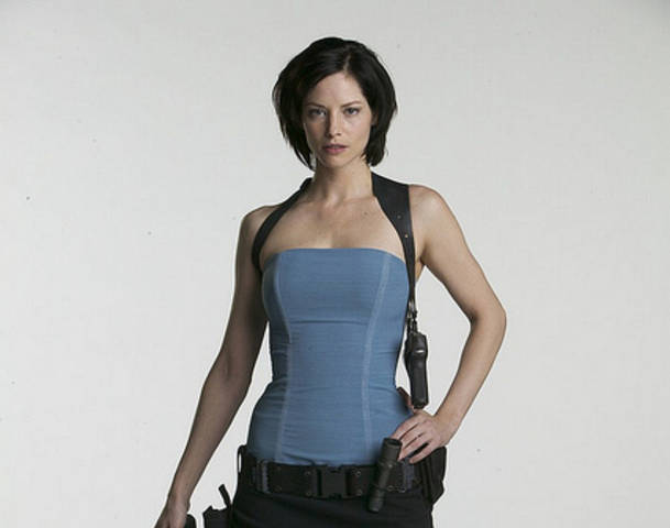 Alice From Resident Evil Movies Fucking Jill Valentine In The Ass With