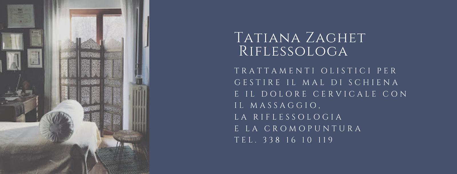 Tatiana Zaghet • Riflessologa