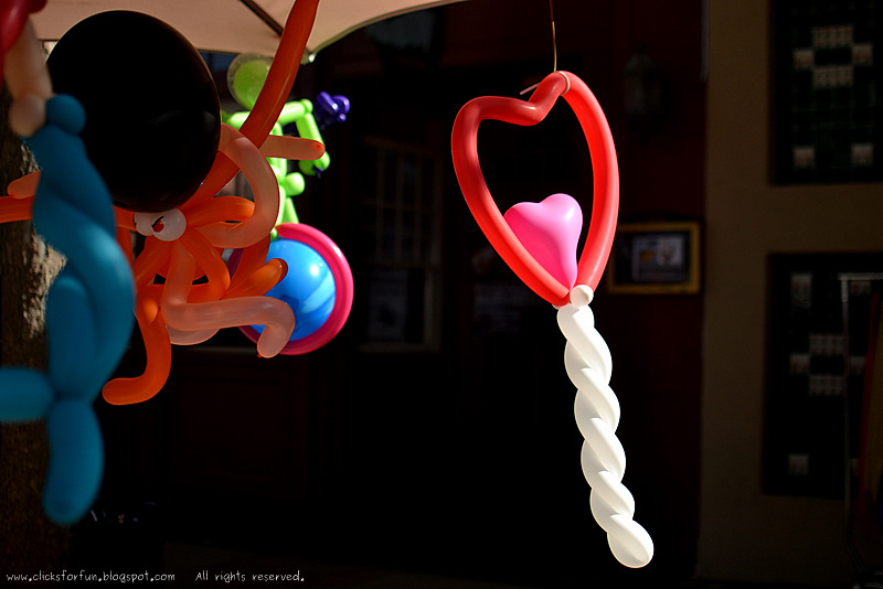 valentines day celebration balloon twisting art gifts photos blogging