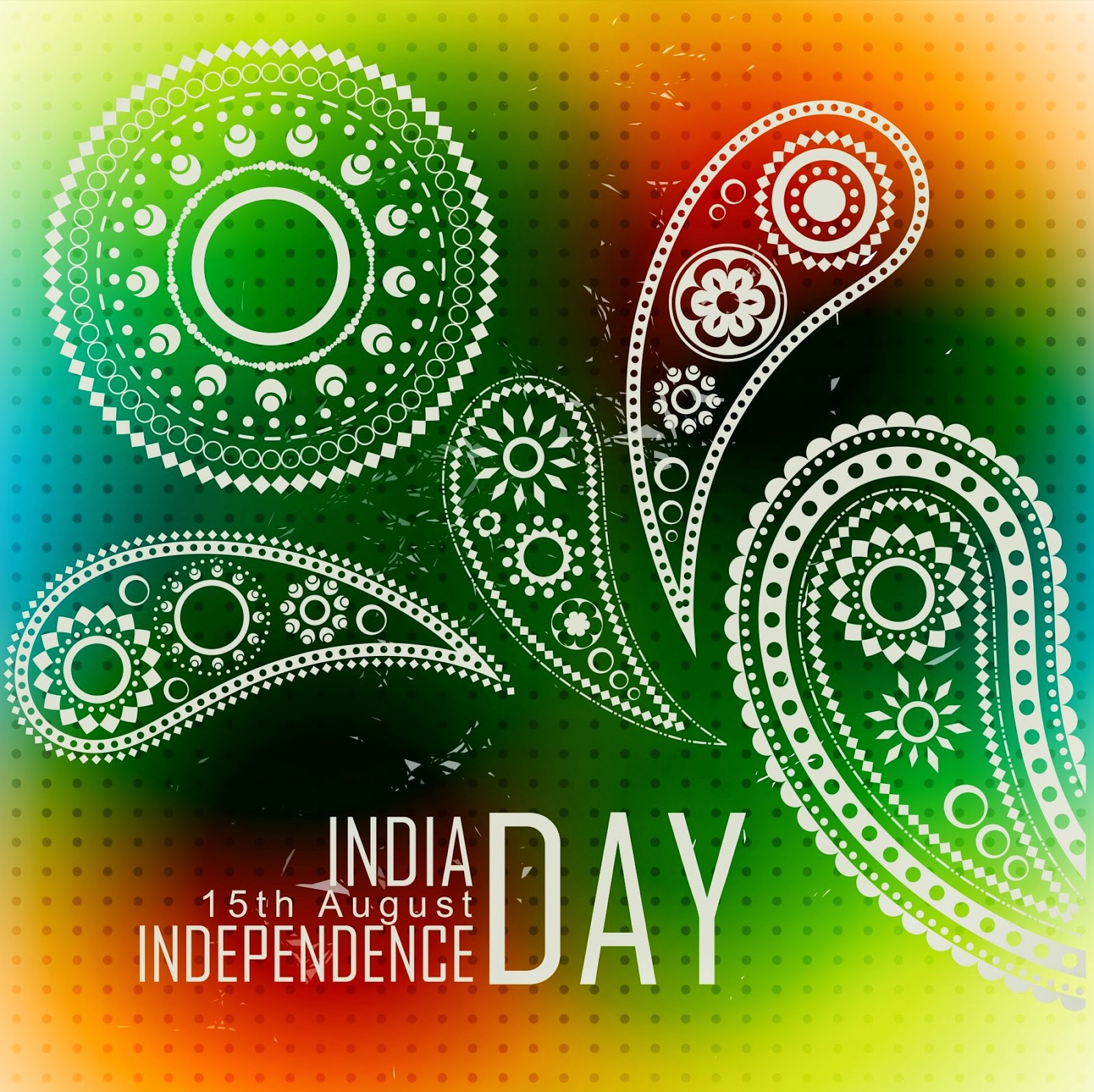 Happy independence day image sms 2014