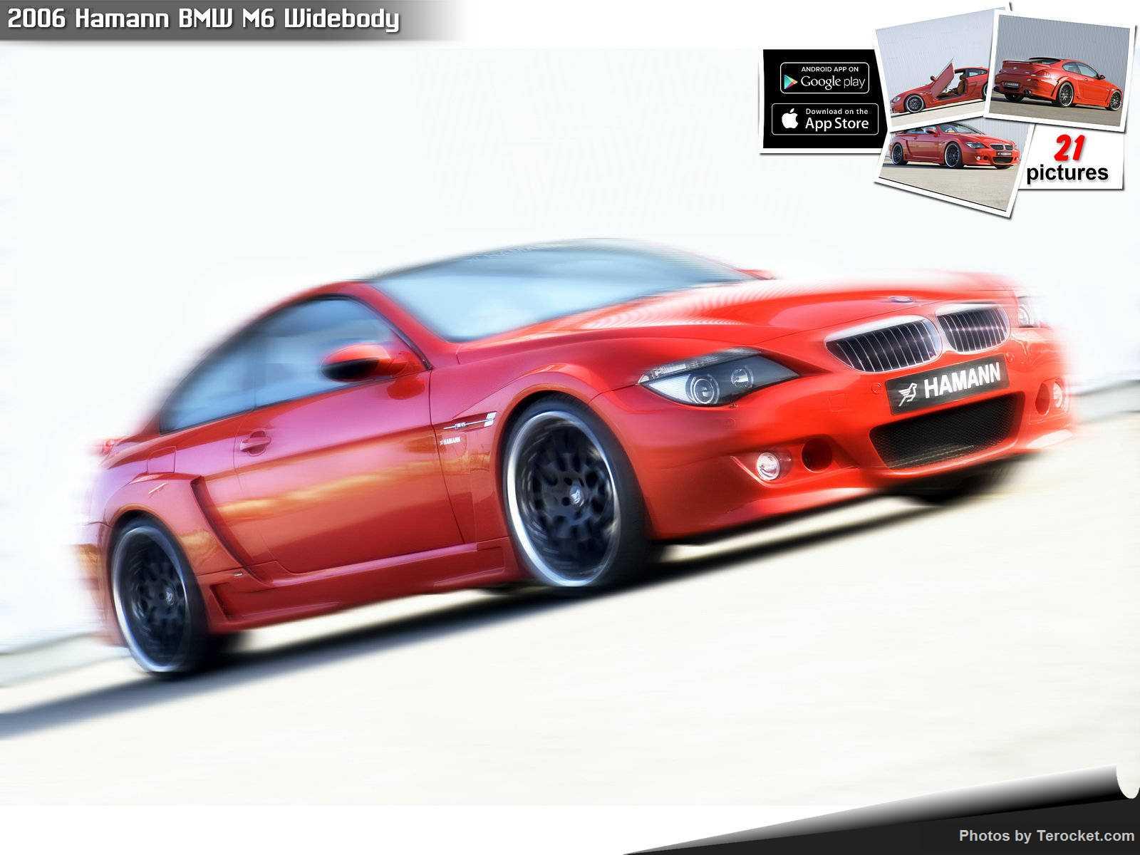 Hình ảnh xe ô tô Hamann BMW M6 Widebody 2006 & nội ngoại thất