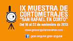 "Participa en la IX ""San Rafael en Corto"""