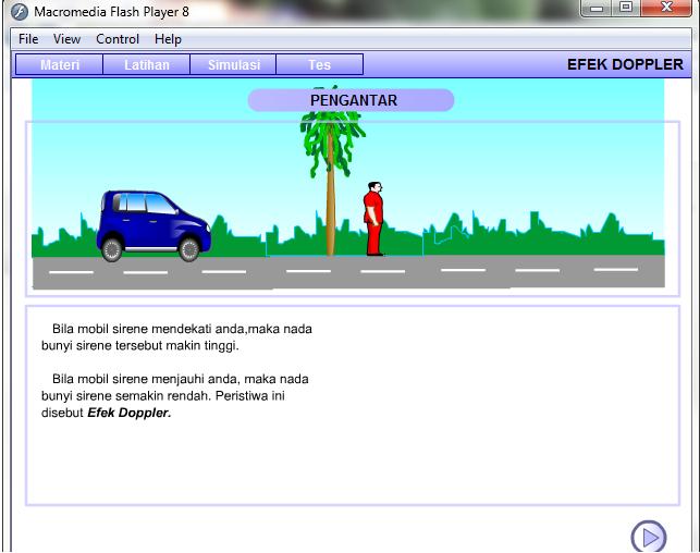 Animasi Fisika Interaktif Untuk Pembelajaran Dari Depdiknas Media Pendidikan Fisika Guru Kuteluk