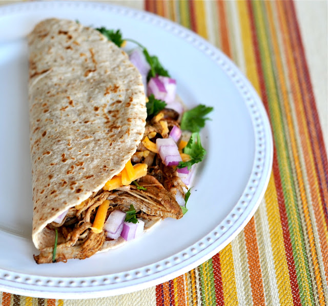The Enchanted Cook: Easy Lean Shredded Pork Tacos