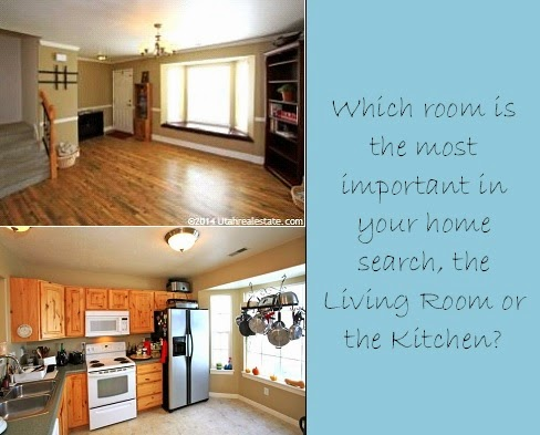 which room is the most important? Kitchen or Living Room