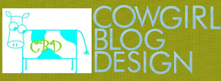 Cowgirl Blog Design