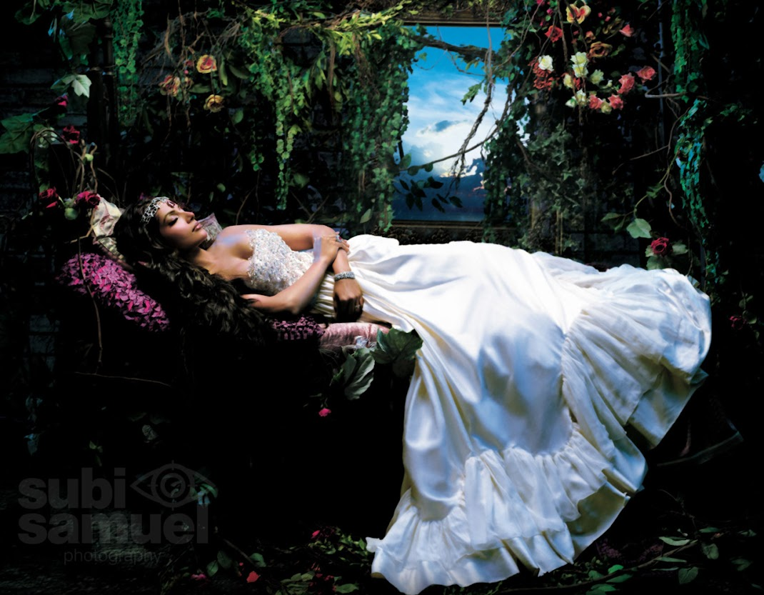 Bipasha Basu Hot Sleeping Wallpaper as Fairy