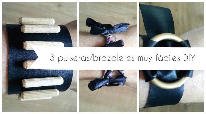 3 vídeo tutoriales de pulseras brazaletes con retales,trozos,restos,abalorios incluso piezas de bricolaje para hacer fácilmente tu misma en poco tiempo.