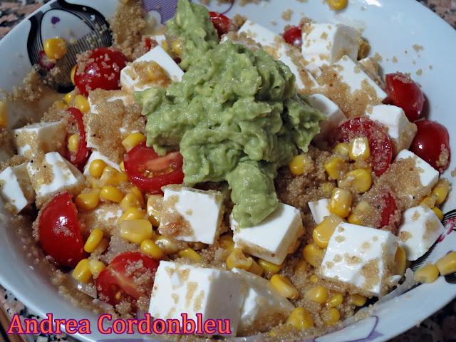 Cordonbleu ensalada fresca de amaranto sin gluten receta proteica vegetariana - La cocina fit de vikika ...