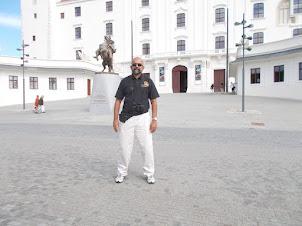 Friday(4-9-2015) :- At Bratislava Castle.