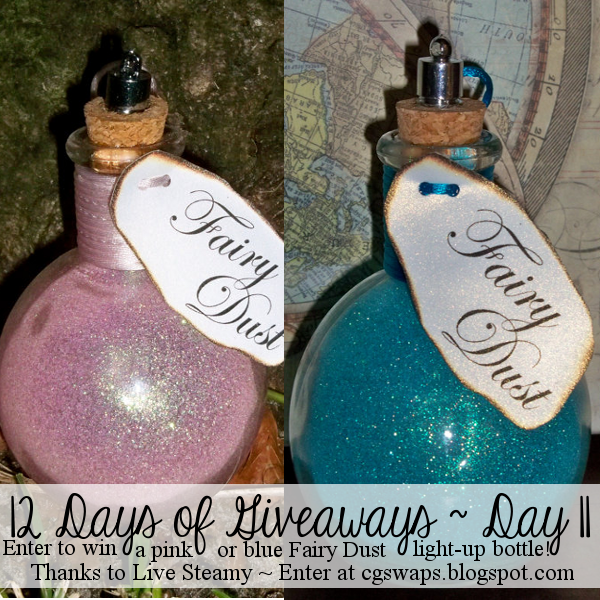 12 Days of Giveaways ~ Day 11: Fairy Dust Light Up Bottle