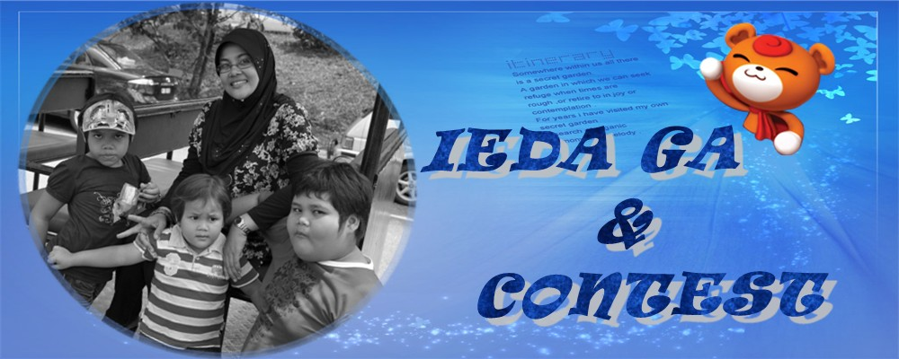 ieda GA &amp; CONTEST