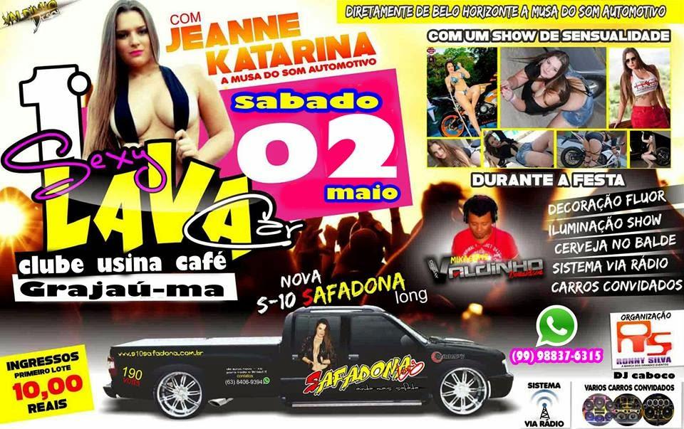 DJ Caboco trás pela 1ª vez vez em Grajaú o evento Lava Car Sex.